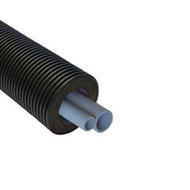 Двухтрубная система Thermaflex Flexalen 1000+ для отопления и водоснабжения FV+RS125A32A25