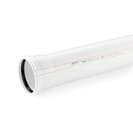 Труба канализационная REHAU RAUPIANO PLUS D 110/250 мм, арт. 11202641003