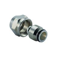 Uponor зажимной адаптер MLC латунь 3/4ВР Евроконус, артикул 1058093, 25 мм, для металлопластиковой трубы MLC