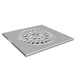Uponor Drain решетка трапа квадратная без основы 150/200х200мм, нерж. сталь, 1093070