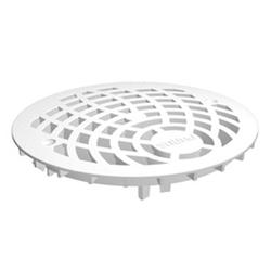 Uponor Drain решетка трапа круглая д.150мм, белая, пластик, 1093072