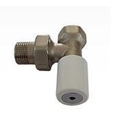 Ручной вентиль SCHLOSSER с наружной резьбой, угловой, DN 15 1/2 GZ * M22*1.5GZ, арт. 601400006