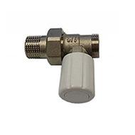 Ручной вентиль SCHLOSSER с наружной резьбой, проходной, DN15 1/2GZ*M22*1.5GZ, арт. 601400020