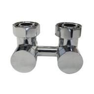 Узел подключения эксклюзивный SCHLOSSER 3/4 х M22х1,5 сталь (фигура угловая), арт. 601000007