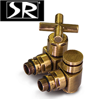Запорная трубопроводная арматура SR Rubinetterie для подключения полотенцесушителей