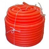 Кожух для трубы Uponor 28/23 (для трубы 18/20 мм), красный, бухты по 50 м, артикул 1012862